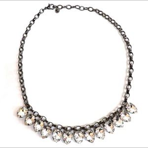 Broadway Lights Crystal Statement Necklace